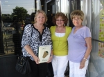 Linda Braswell Castellon and Flo Cohen-Sarno with Phyllis Martino Carbone, Advisor for class of 65